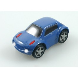 Blue Zen Wheels Car