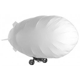 "Balloon - 52x37"" for Tri-Turbofan Silver"