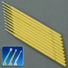 Microbrush - Fine (Yellow) 10 pack