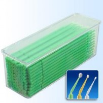Microbrush - Regular (Green) 100pc Tray