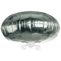 "Balloon - 38"" round for Tri-Turbofan Silver"